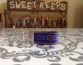 Chicago Bears Inspired Keychain Fob