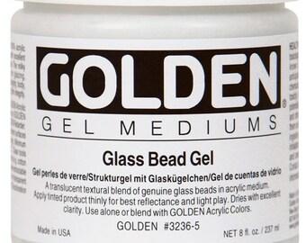 Golden Regular GLASS BEAD GEL 8 oz tub