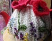 Poppy and wild flowers Tea Cosy