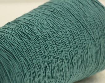 Large spool teal elastic thread