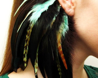 Feather Ear Cuff - Idillia