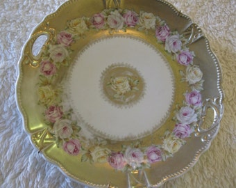 Vintage china  wall plate,China plate,Decroative china plate, Floral China plate