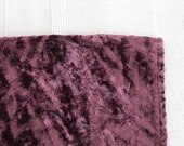 Vintage purple lilac  Plush (viscose) for making toy animal