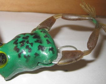 Weedless Mechanical Jensen Kicker Frog collectible ON SALE