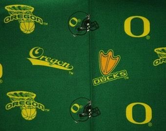 NCAA University of Oregon Ducks 100% Cotton V2 Fabric by the yard
