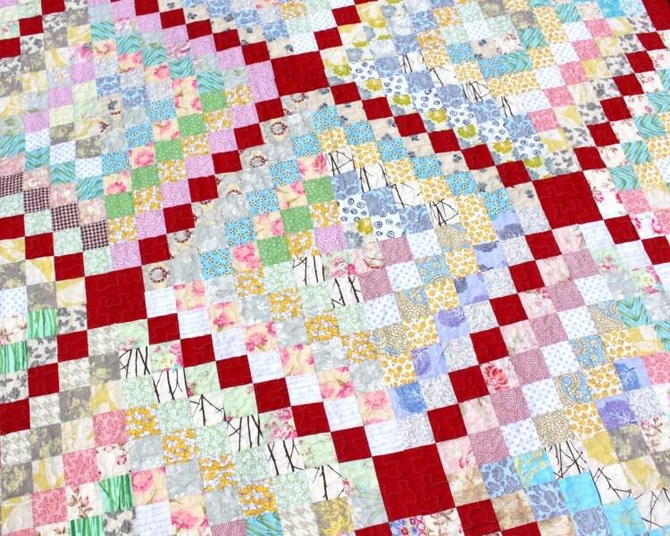 Quilt Pattern Trip Around The World Quilt By Karengriskaquilts