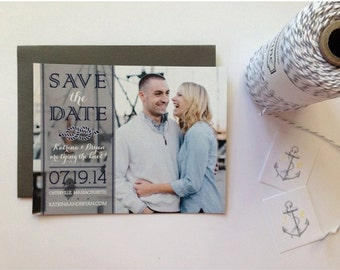 Nautical Magnet Save the Date