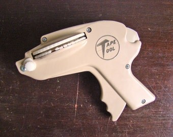 vintage Tape Tool label maker in beige / ivory New Year get organized