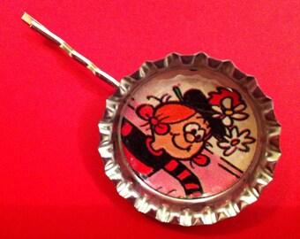 Handmade Vintage Minnie the Minx Hair Slide