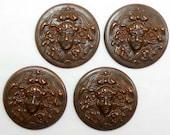 Lady Medallion Style Stamping, Dark Chocolate Kiss, Item0255