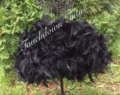 Black feather tutu customize your own