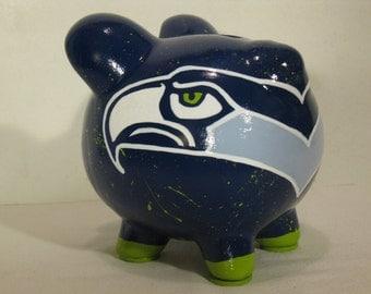 Football piggy bank, Small, Football Helmet Piggy bank - MADE TO ORDER