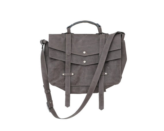 S-A-L-E 40% off, ONLY 252usd INSTEAD OF 420usd,Everyday  Handbag, Grey Briefcase, Modern Leather Over the Shouler