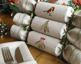 Woodland Reusable Christmas Crackers