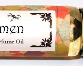 OMEN - Roll on Premium Perfume Oil - 2 sizes to choose from - 1/3 oz or 1/6 oz -  enlightening notes that inspire both mind and soul.