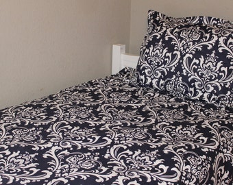 Comforter - Damask - Twin, Full, Queen