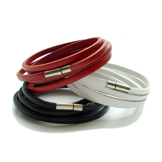 Genuine Leather Wrap Bracelet