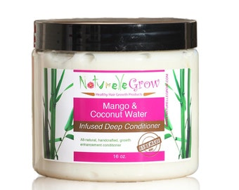 Mango & Coconut Water Deep Conditioning Treatment - for healthy hair growth hair conditioner