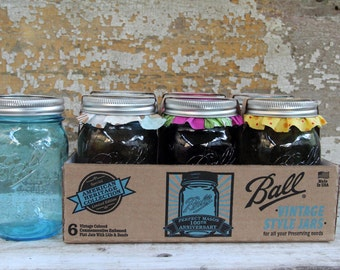 "It's a ""Blue"" Jar day - 1ct/16oz blue ball jar with your flavor jam/jelly/etc"
