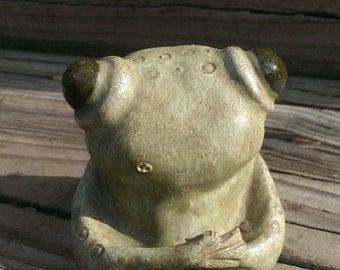 Unique Pottery Frog