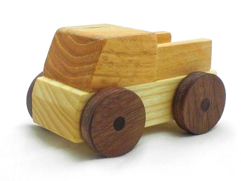 Wooden Toys For Boys : Toy for boys wood truck