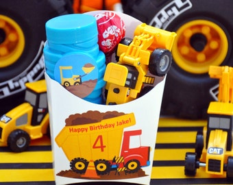 12 Construction Party Favors - Truck Party Favors - GLAMOROUS SWEET EVENTS