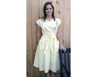 Vintage Yellow with Pockets