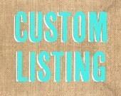 Custom Listing for celineplomb1