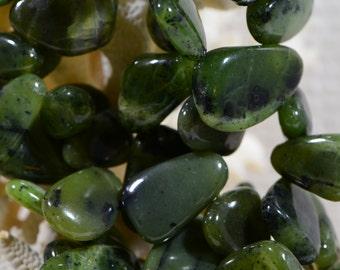 Jade Beads Natural Gemstone Beads Freeform Beads Jewelry Making Supplies