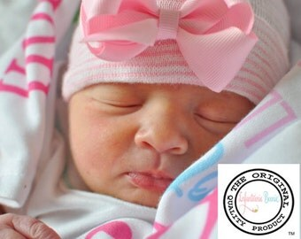 Newborn Hospital Hat, newborn girl, baby girl, newborn hospital hats, newborn girl hat, newborn hats, baby girl coming home outfit
