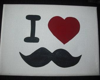 I heart moustaches!