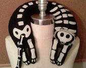 Jelani The Skeleton Lion Travel Neck Pillow