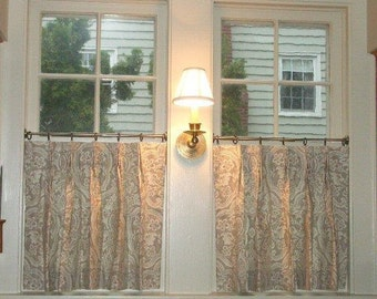Cafe' Curtains | Designer Quality | Custom Window Treatments