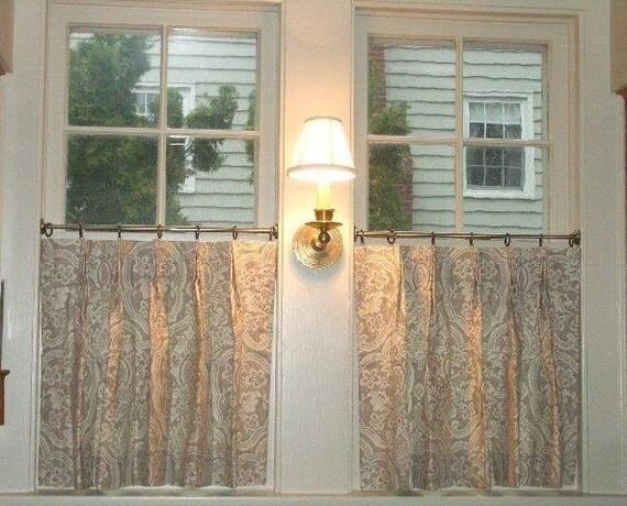 Cafe' Curtains Designer Quality Custom Window