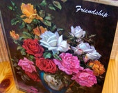 """Vintage 60's """"FRIENDSHIP"""" Book Edited by Van B. Hooper An Ideals Production"""