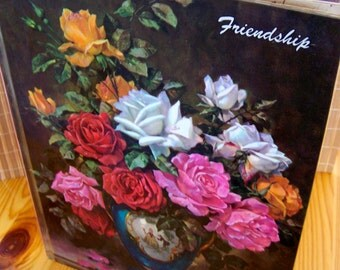 "Vintage 60's ""FRIENDSHIP"" Book Edited by Van B. Hooper An Ideals Production"