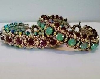 Back In Bollywood Crystal Bracelet Tutorial