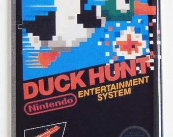 Duck Hunt Video Game Box Fridge Magnet
