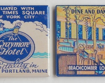 Graymore Hotel Fridge Magnet Set