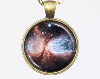 Cosmic Necklace -Snow Angel Sharpless 2-106(S106)- Galaxy Series (G018)