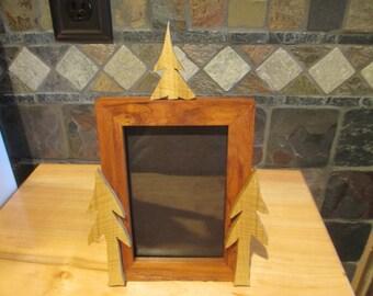 4x6 Oak picture frame.