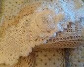 Bridal Crochet Bracelet