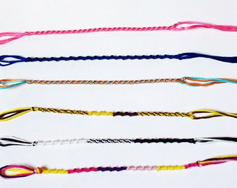 Twisted Friendship Bracelet