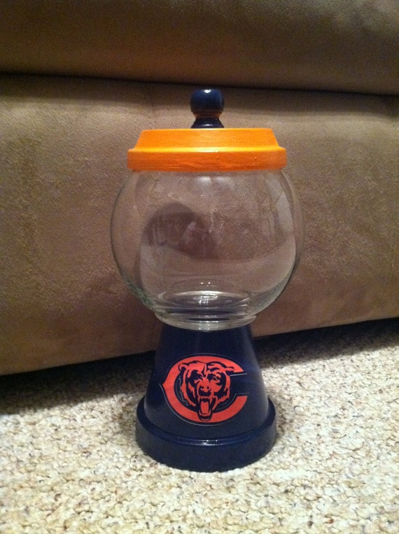 Chicago Bears Gumball/Candy Dish