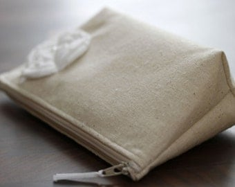 Wedding Clutch, Fall Wedding Clutch, Winter Wedding Clutch, linen
