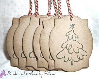 Large Christmas Tree Tags