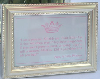 pink and Princess Quotes - Princess Party by Bloom
