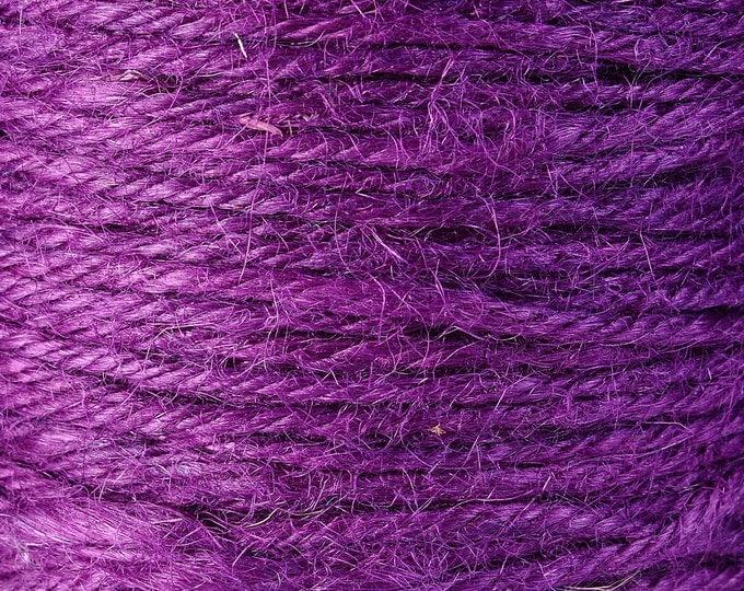 2mm Purple colored Hemp Cord - 10 feet - Packaging string - Macrame hemp cord - Hemp thread (1427) - Flat rate shipping