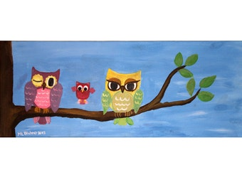 Owl Family - limited Edition