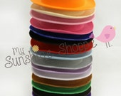 Curved Brim, Oval shaped mini Top hats  - set of 5